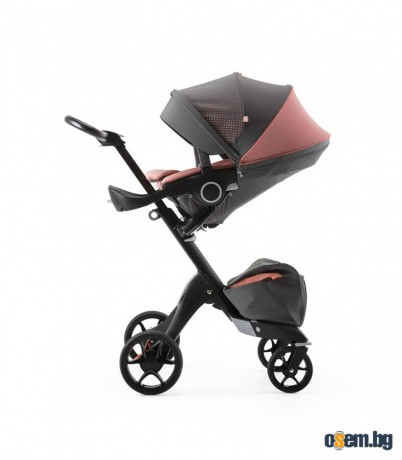 Stokke® Xplory® Black Athleisure Coral