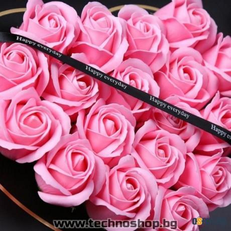 Кутия от рози за любим човек